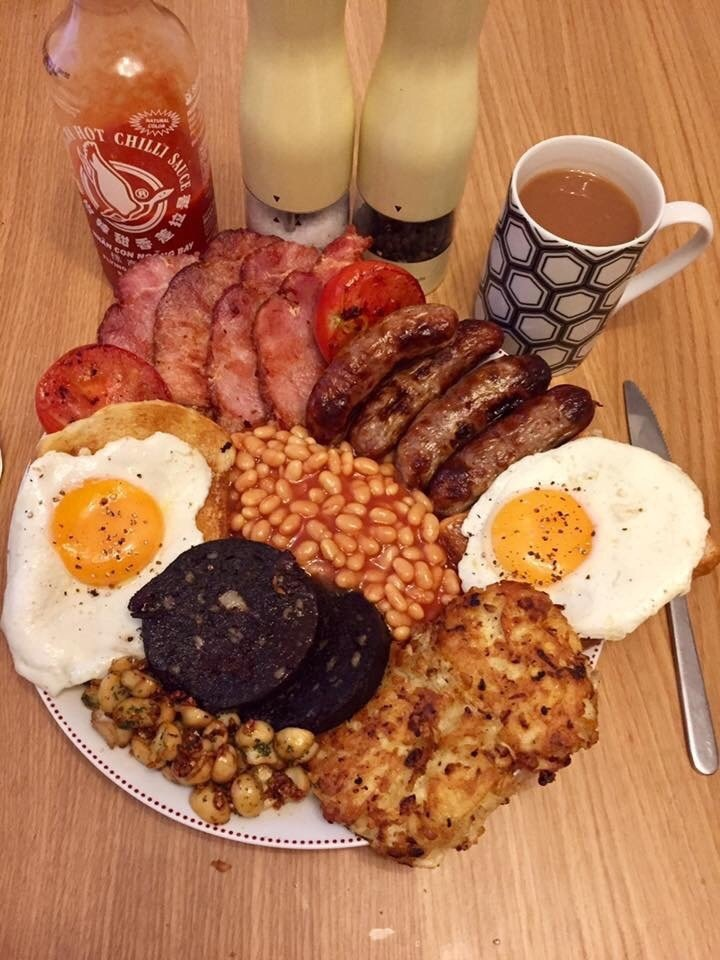 Triple Tap to dupvote Full English Breakfast