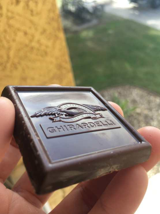 My first day as plant manager at the Ghirardelli factory in San