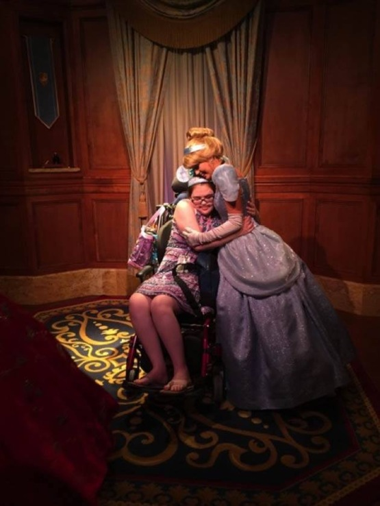 A year ago we took my terminally ill sister to Disney