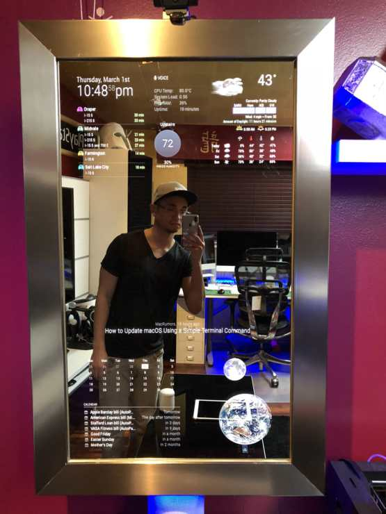 Raspberry pi 3 magic mirror download
