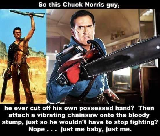 Chuck Norris has nothing on Bruce