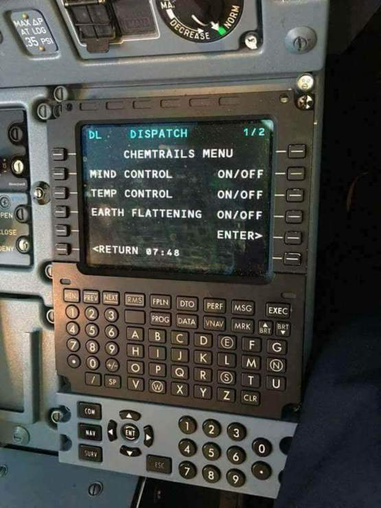 Recent Aircraft System Update Is Pretty Sweet Trending On Imgur