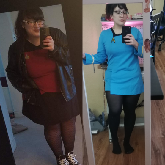 I started my weight loss journey almost a year ago.