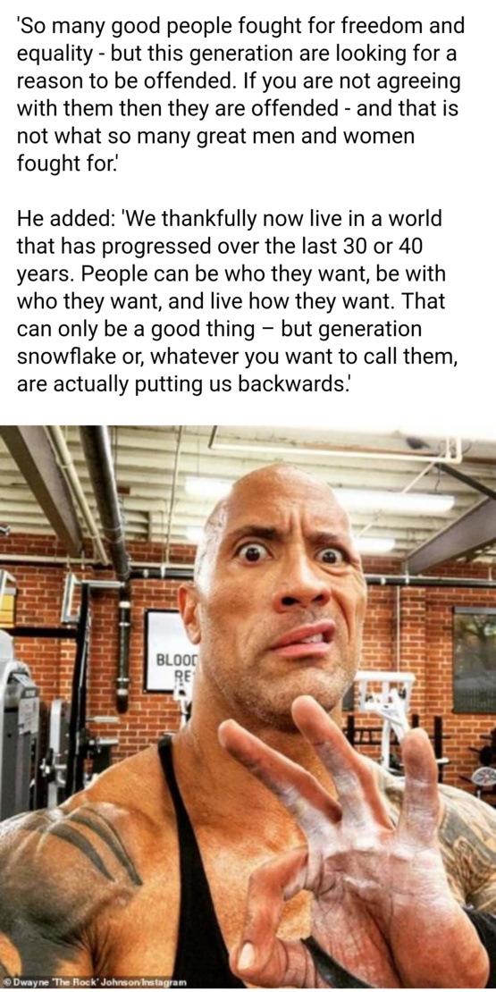 Amen to The Rock