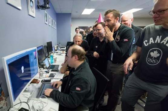 The moment the New Horizons team saw the first image of Ultima Thule, a Kuiper Belt object discovered way beyond Pluto.