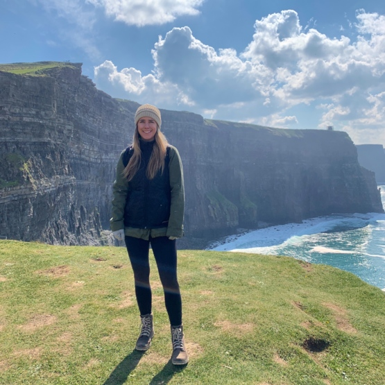 Rained for my entire trip to Ireland, but the sun came out at the cliffs!