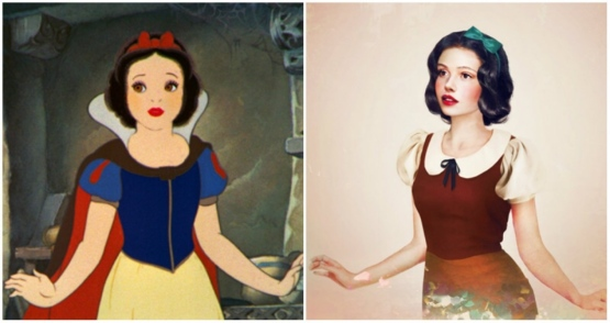 What Would Disney Princesses Actually Look Like