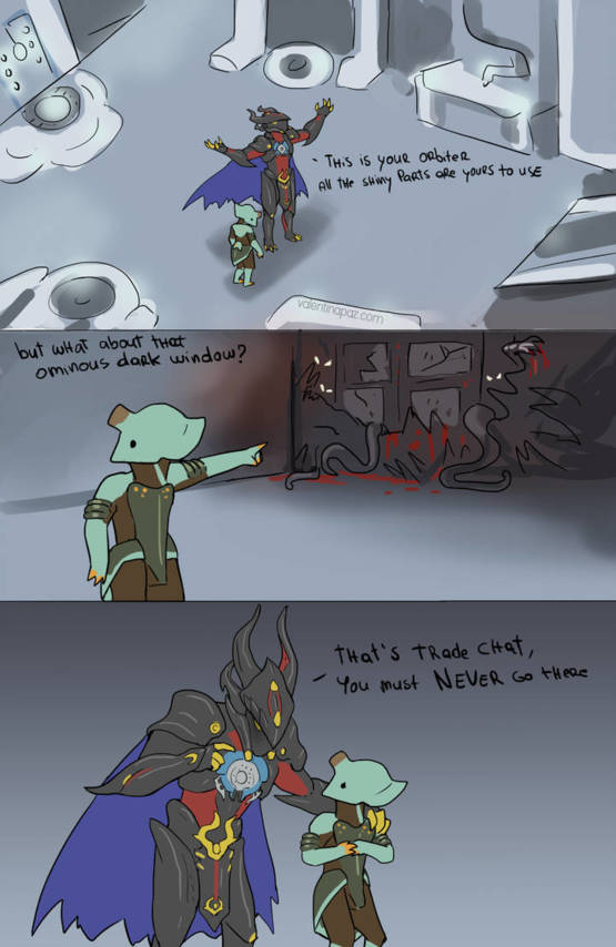 These comics about Warframe are wholesome - Trending on Imgur