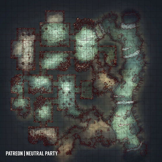 50 Battlemaps by Neutral Party