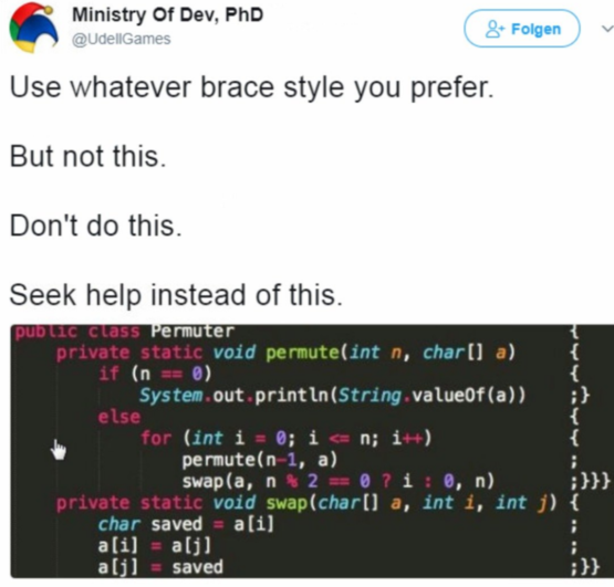 Why did the programmer quit his job