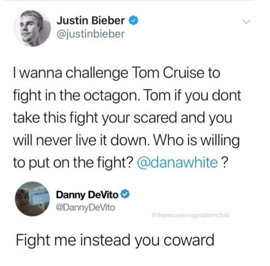My money is on Danny DeVito