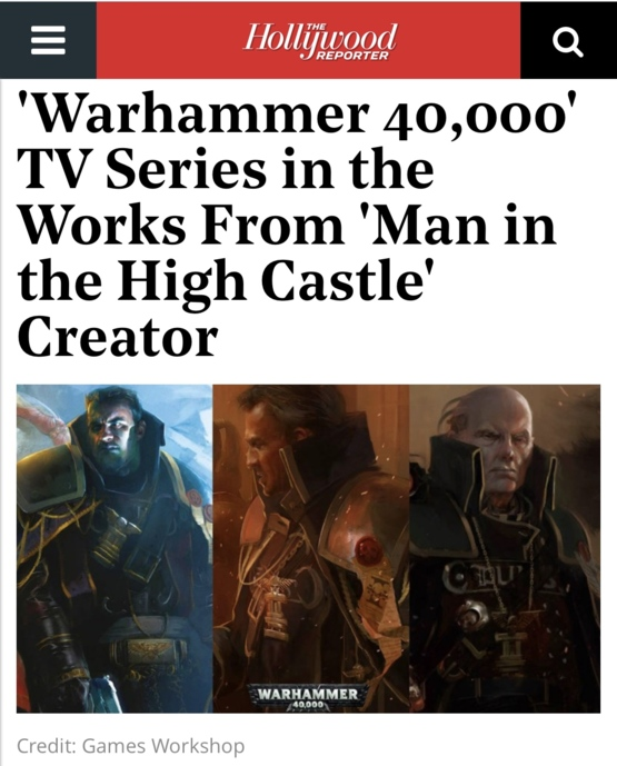 Warhammer 40k TV series!