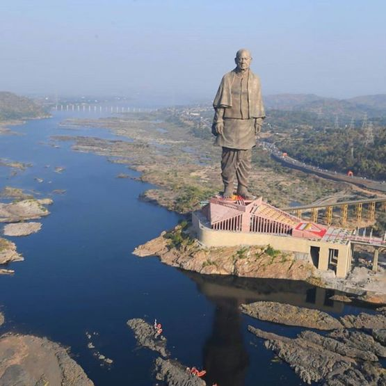 India spent $400 million to make this statue.