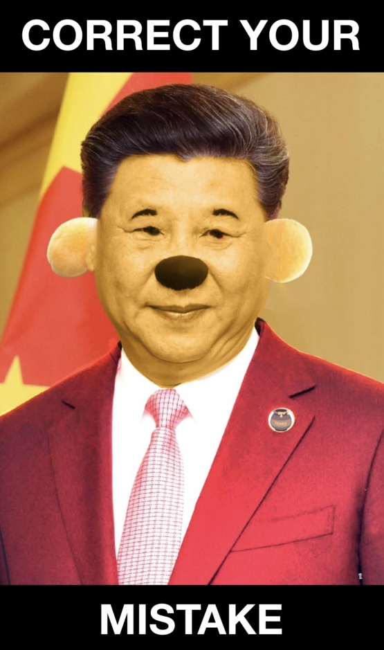 Oh look it's Xi Jinping