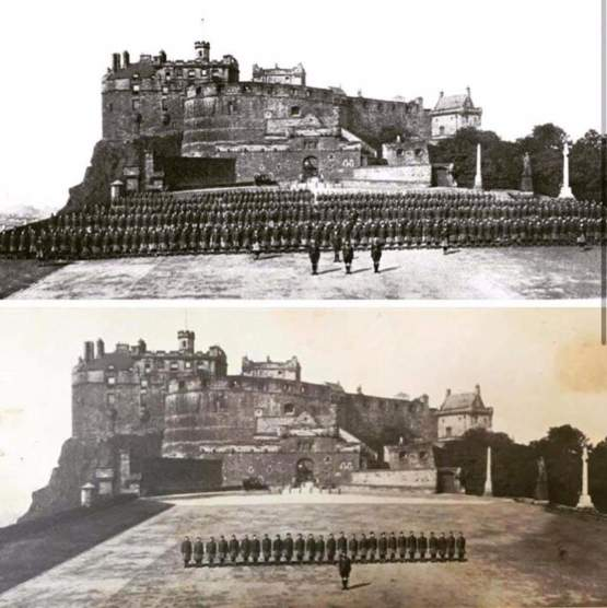100 years - a powerful comparison of the Cameron Highlanders in 1914 and 1919