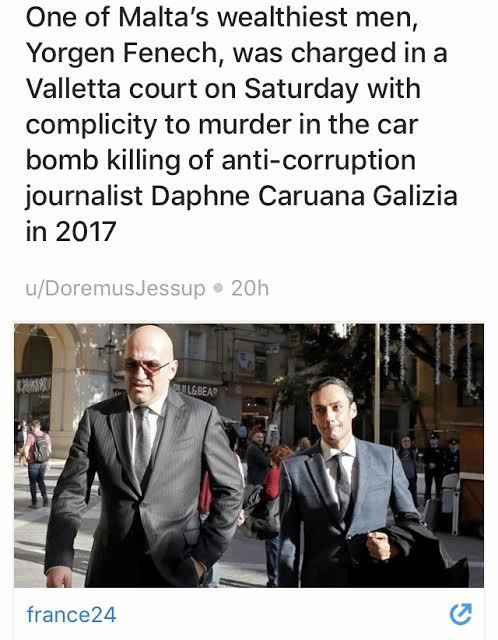 Remember the journalist murdered by a car bomb over the Panama Papers One of Malta's richest men was just charged with complicity in her murder.