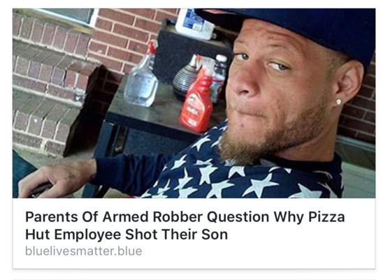 won't someone think of the armed robbers