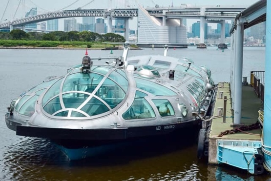 "Water bus in Tokyo, called ""Himiko"""