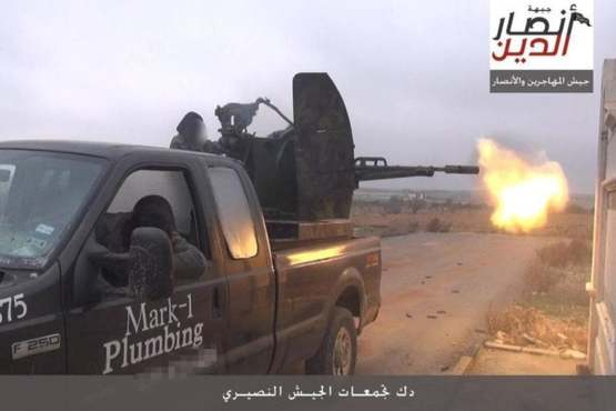 In 2015, a Texas plumber who sold his truck to a dealership found out that the decals were not removed when it ended up in the hands of ISIS