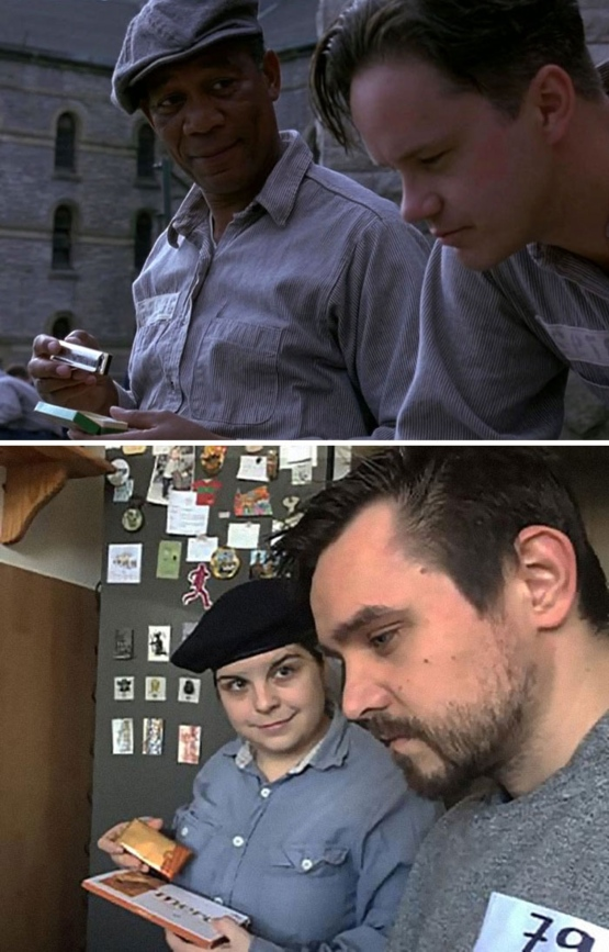 Funny: This Couple Decided To Recreate 21 Famous Movies While In Lockdown And Completely Nailed It