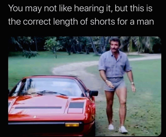 Tom Selleck knows