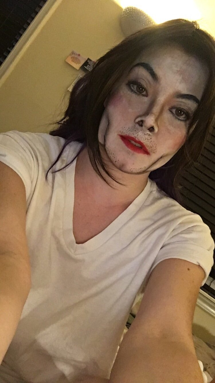 So my friend made me Michael Jackson for Halloween, think it turned out pretty well. I'm a 23 yo female
