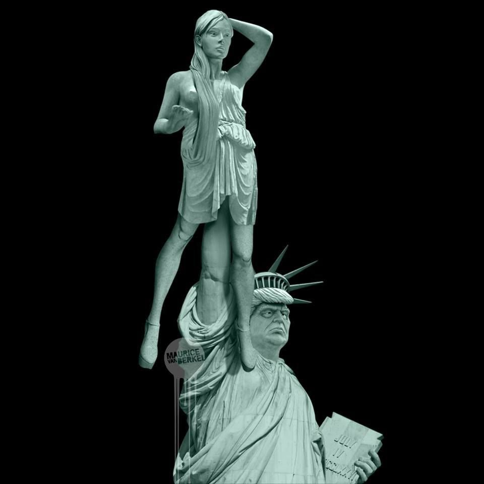 Statue of Liberty If Trump Was Elected