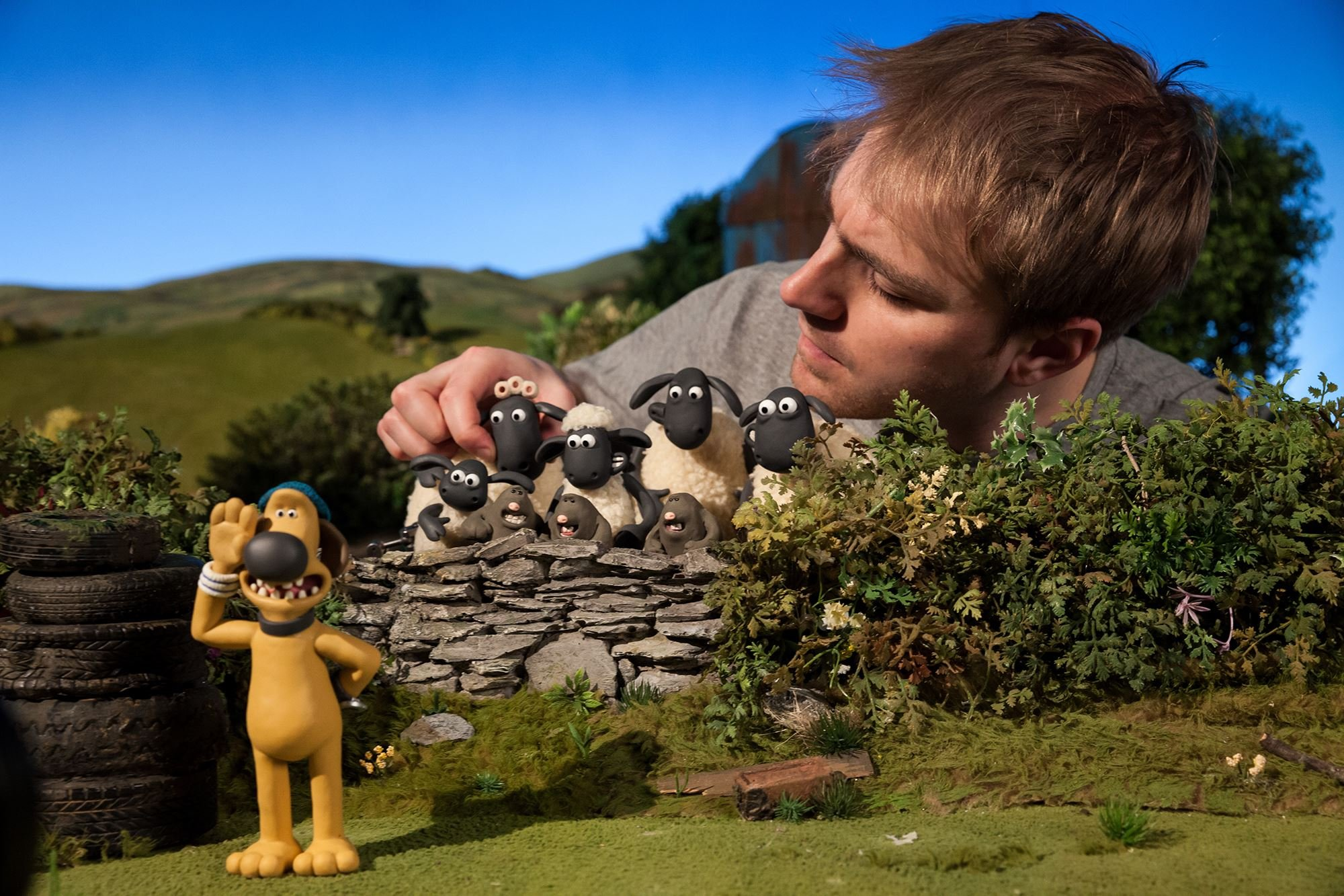 Animator Positioning Characters For Shaun The Sheep