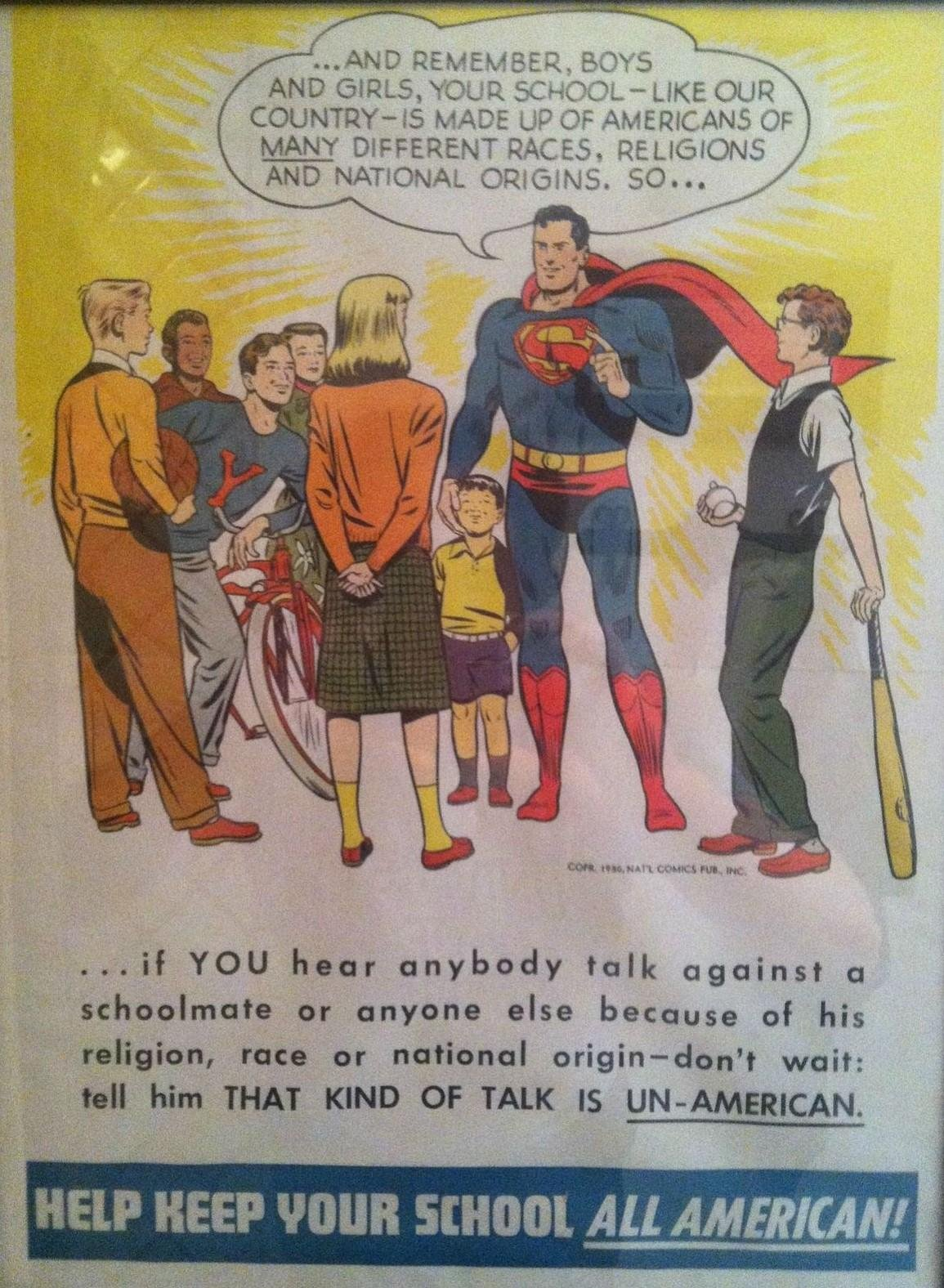 We can learn a lot from 1950s Superman!