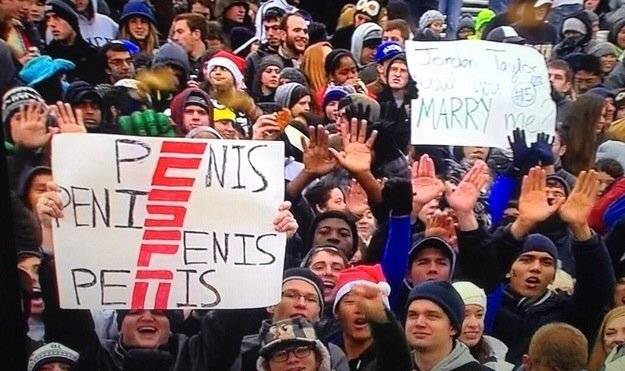 Best ESPN sign of all time.