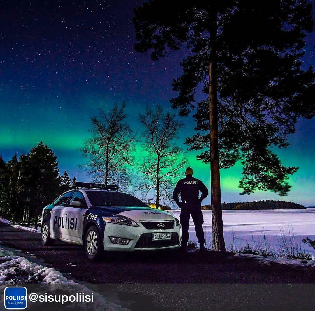 A photo posted by the finnish police.