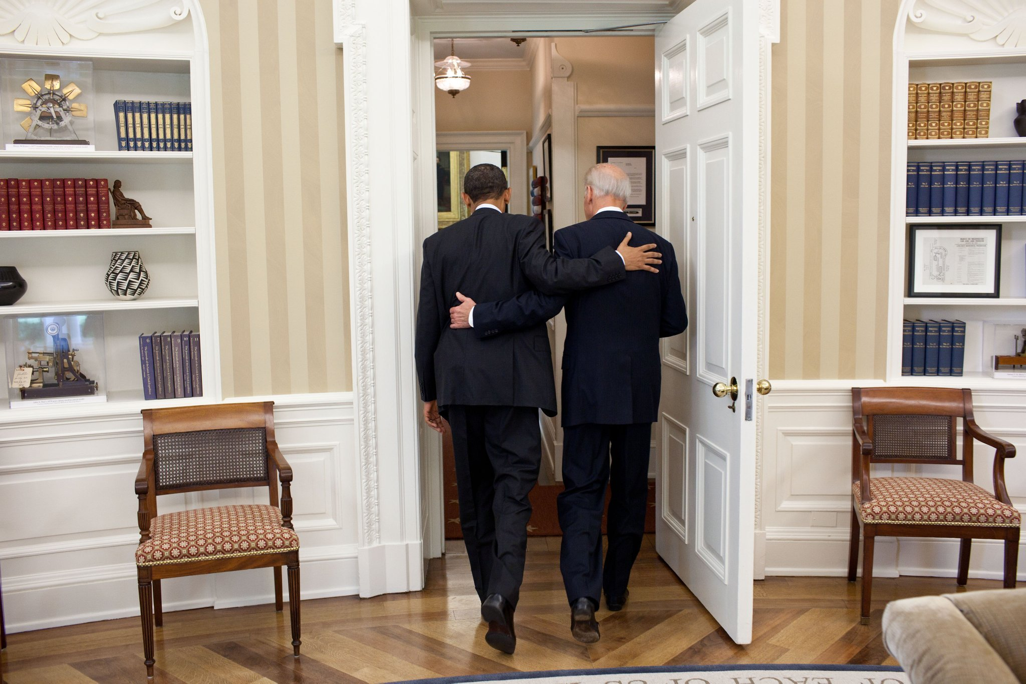 """""""Not just because you have been a great Vice President, but because in the bargain, I gained a brother."""" — POTUS"""