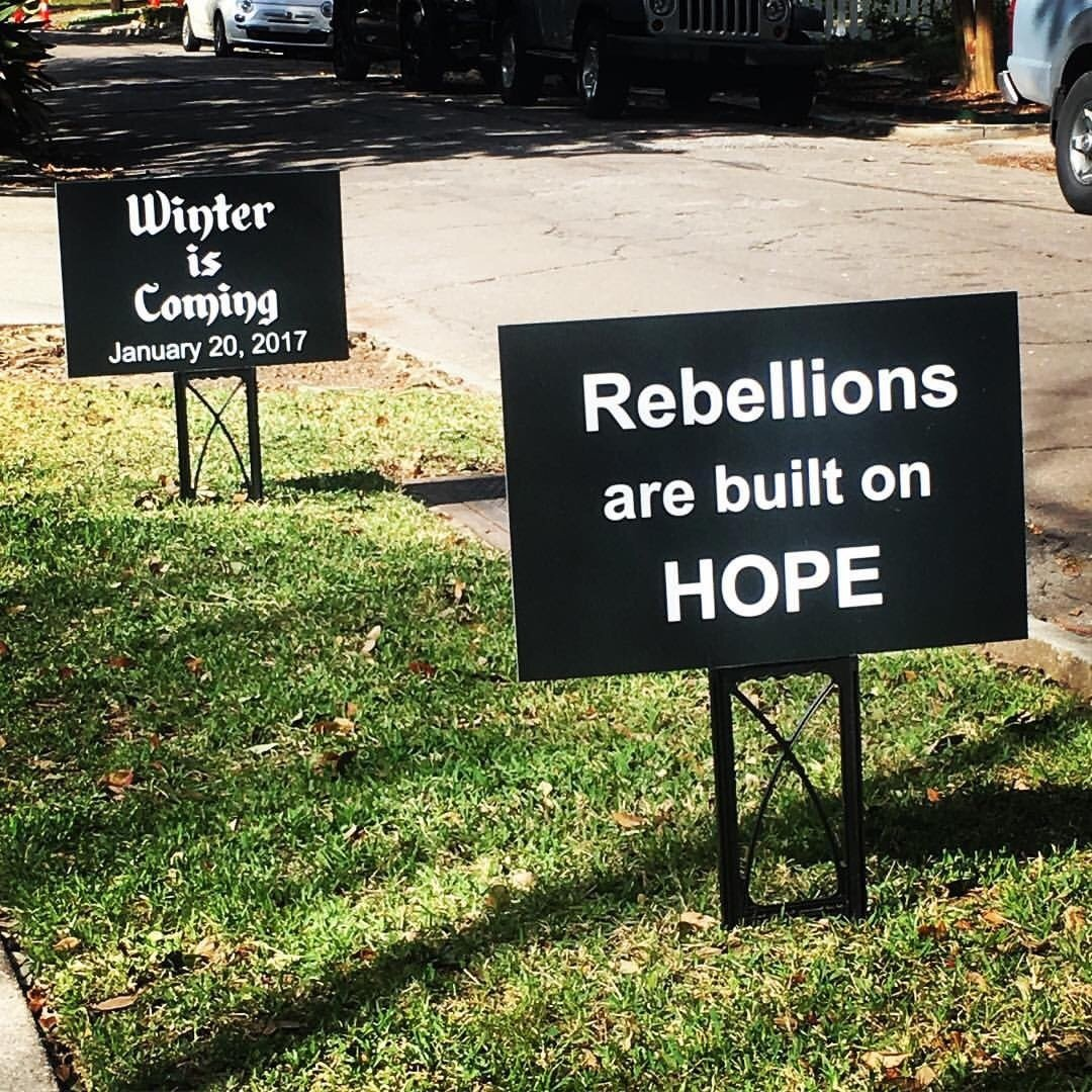 Truth in the Street: From a friend in New Orleans