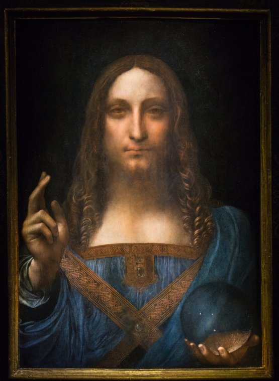 this leonardo da vinci painting just sold for a record