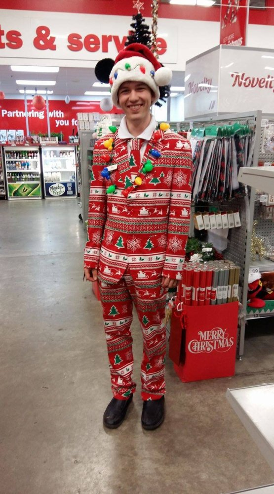 merry christmas reddit dressed up for work today loved making my customers smile - Reddit Christmas