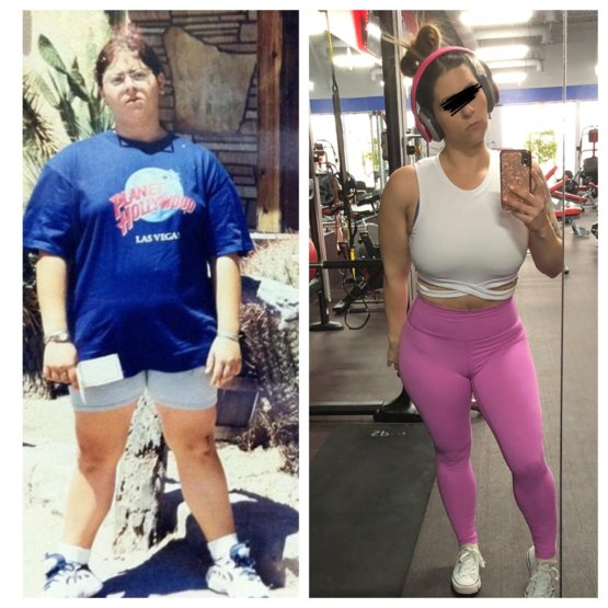 Overall natural 100lb weight loss 32/f (progress) - Trending on Reddit
