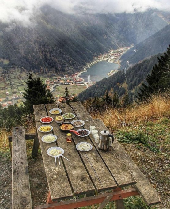 Picnic with a view~ Uzungol, Turkey