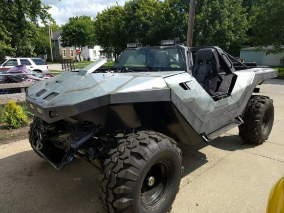 A warthog from Halo!