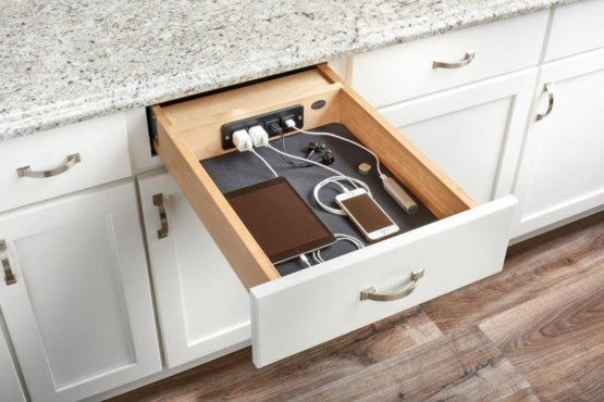 If you are looking for a new project for your DIY ambitions - the Charging Drawer