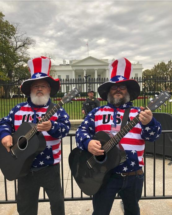 Tenacious D at the White House today.