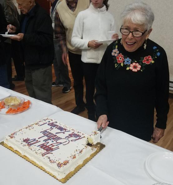 My Amazing Grandmother Turns 100 on Tuesday. She gave a speech tonight about her firsthand experience the night of Kristallnacht, losing her family to the holocaust, her time in England during WWII, her being an interpreter at the Nuremberg Trials...truly