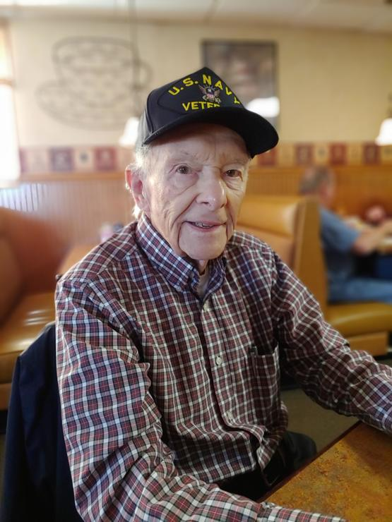 My Father. WWII U.S. Navy Veteran and 92 years young.