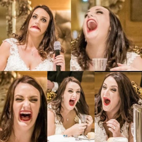 Got my wedding photos back and safe to say I found the speeches pretty funny!