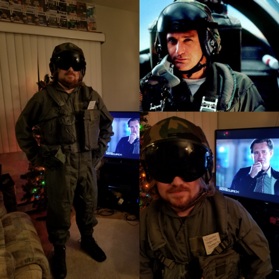 I got Bill Pullman's Actual Flight Suit from Independence Day from Cards Against Humanity! Fits well, except the vest (had to suck in my gut.) Came with a Certificate of Authenticity too!