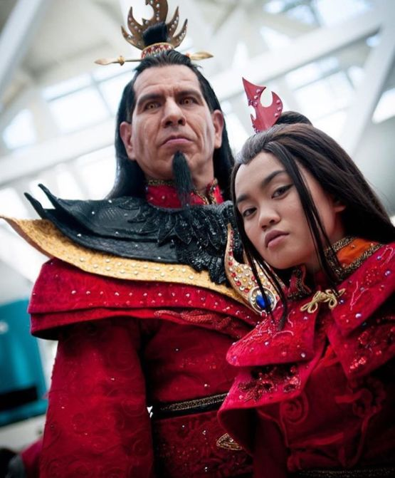 Fire Lord Ozai and Princess Azula Cosplay