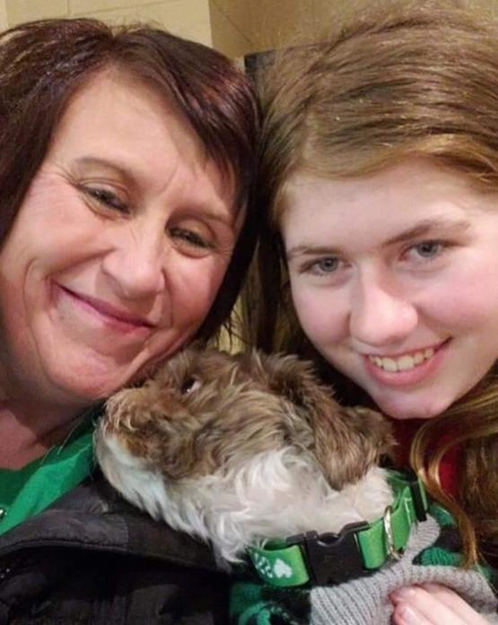 After three months of captivity, Jayme Closs is reunited with her aunt and dog