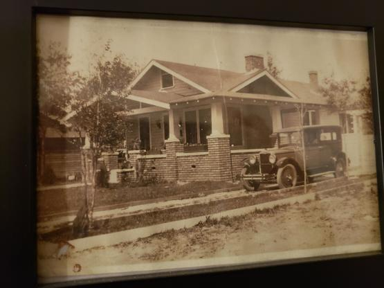 My house 3 years after it was built. House was built in 1917.