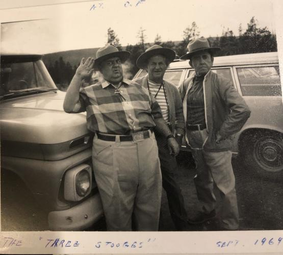 The Three Stooges in Yellowstone