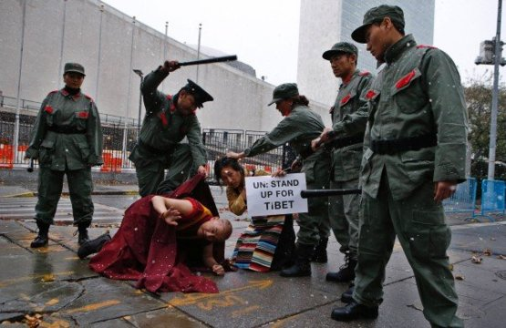China has been occupying Tibet since 1949 and will torture and kill peaceful protestors who advocate for Tibetan freedom.