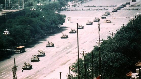 This was how many tanks Tank Man in Tiananmen Square faced.